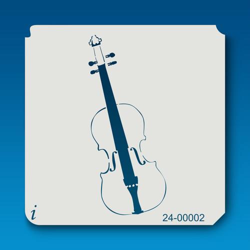 24-00002 violin music stencil
