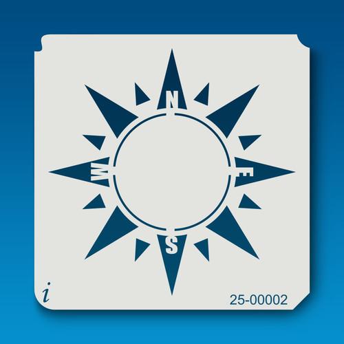 25-00002 Sun Compass Stencil