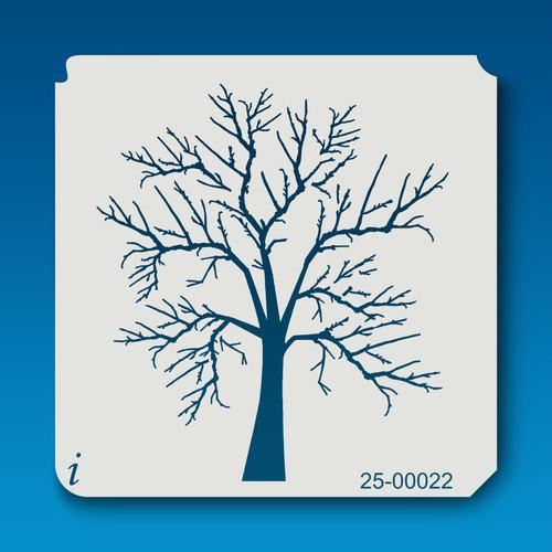 25-00022 Bare Tree Stencil