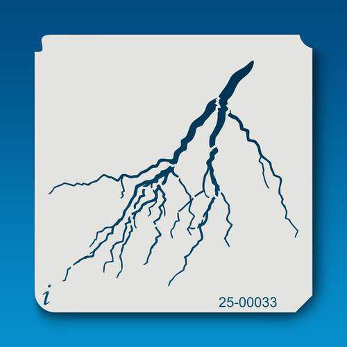 25-00033 Lightning Stencil