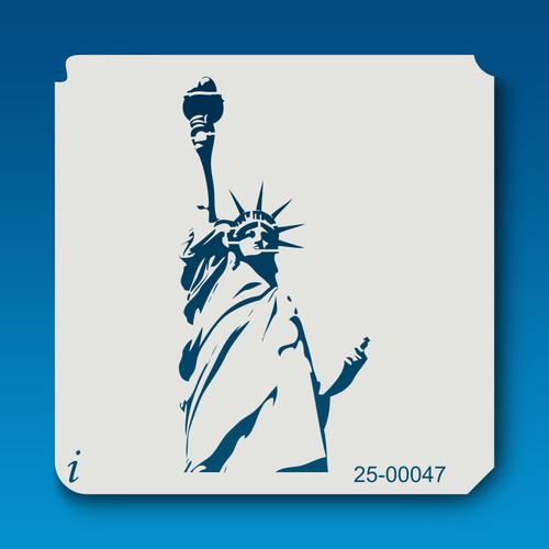 25-00047 Statue of Liberty Stencil