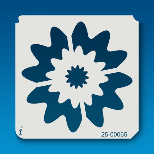 25-00065 Retro Flower 3 Stencil