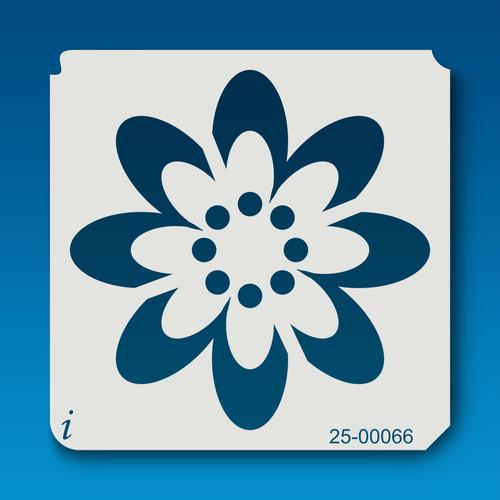 25-00066 Retro Flower 2 Stencil