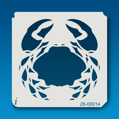 26-00014 Crab Stencil
