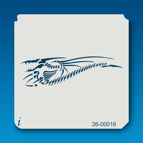 26-00016 dino bones stencil