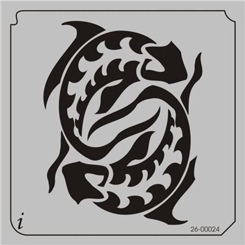 26-00024 Ying Yang Koi Fish