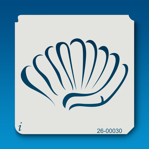 26-00030 clam shell stencil