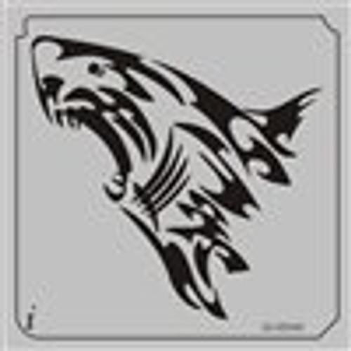 26-00040 Great White Shark Tribal