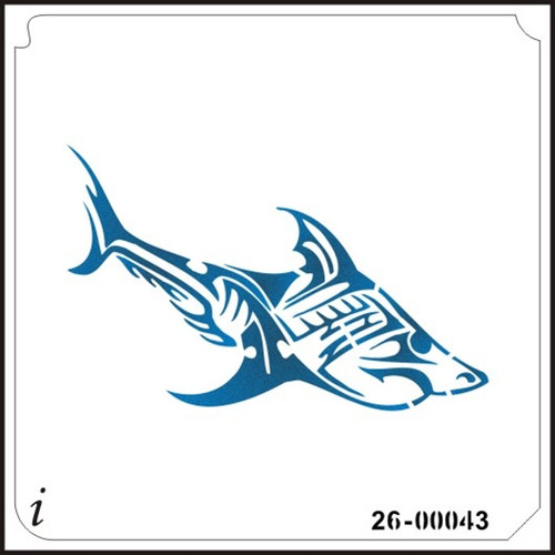 26-00043 Tribal Shark