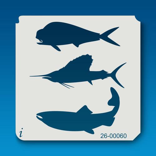 26-00060 Trio of Ocean Fish