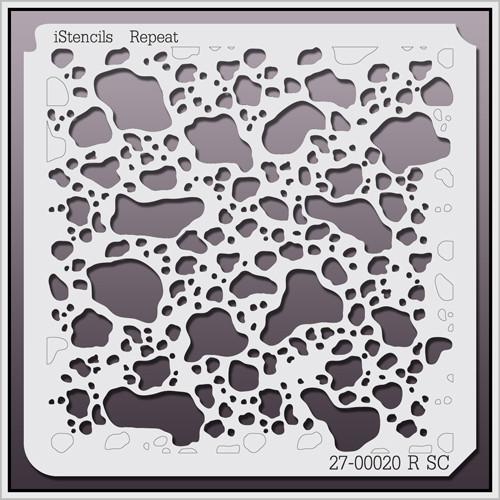 27-00020 R SC Dalmatian Print Stencil