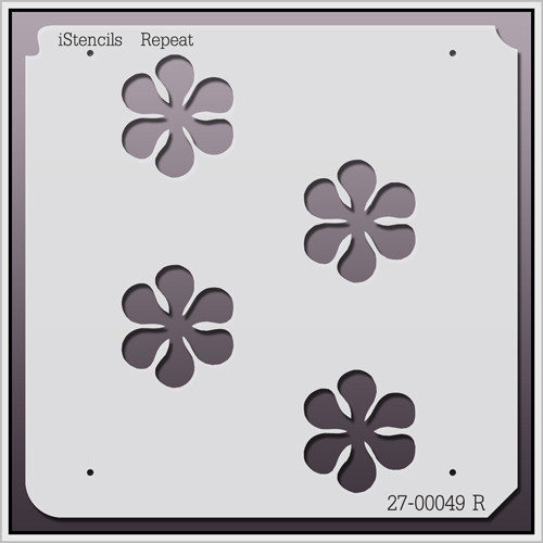 27-00049 R Daisy Repeat Stencil