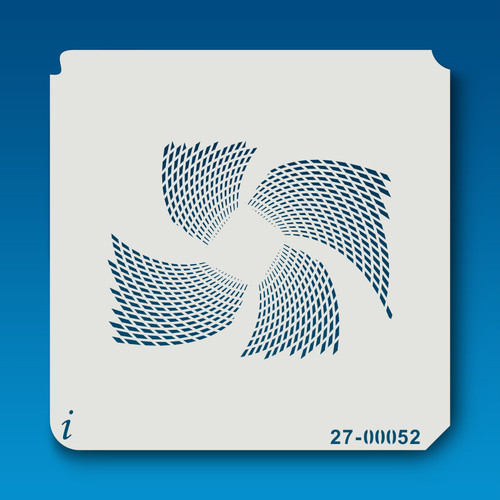 27-00052 Pinwheel Paint Stencil