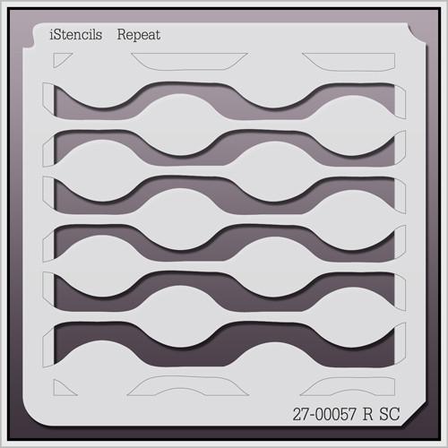 27-00057 R SC Retro Chainlink Stencil
