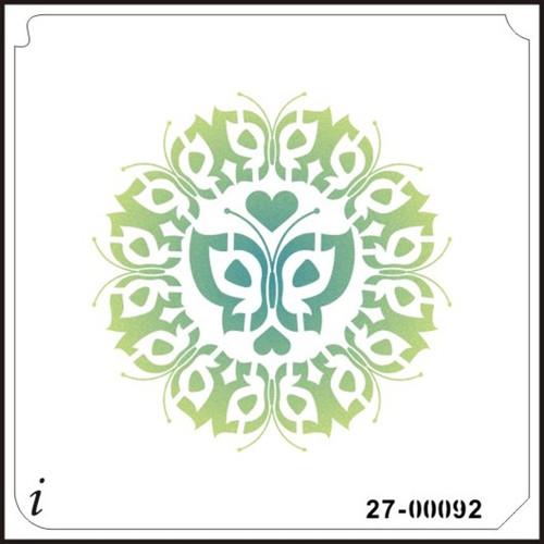 27-00092 Butterflies Stencil