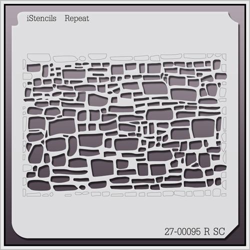 27-00095 R SC Stone Walled Stencil