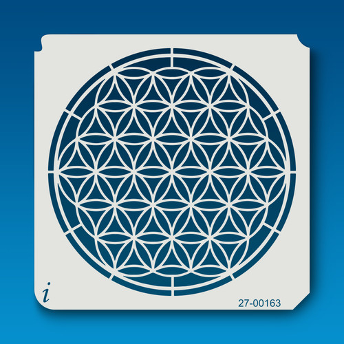 27-00163 Flower of Life Stencil