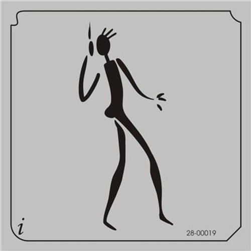 28-00019 Dancing Stick Figure