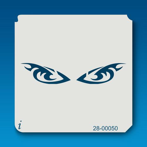 28-00050 Eyes Stencil Template
