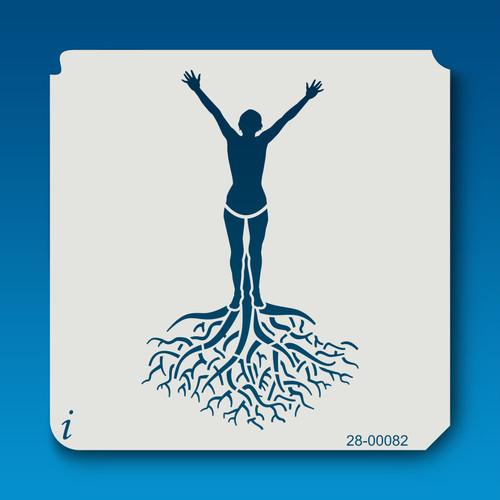 28-00082 Tree pose