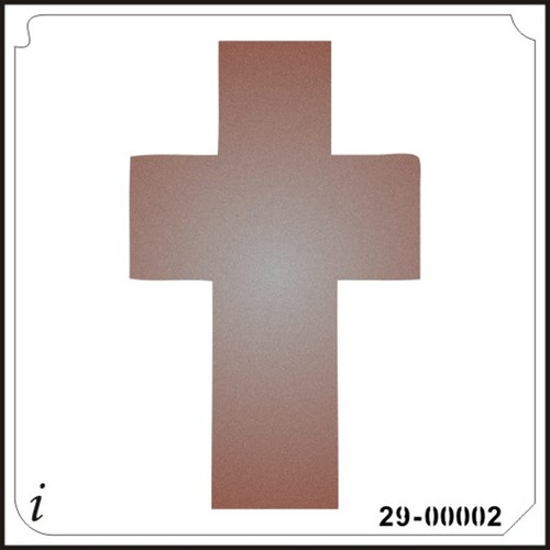 29-00002 Cross Large Stencil