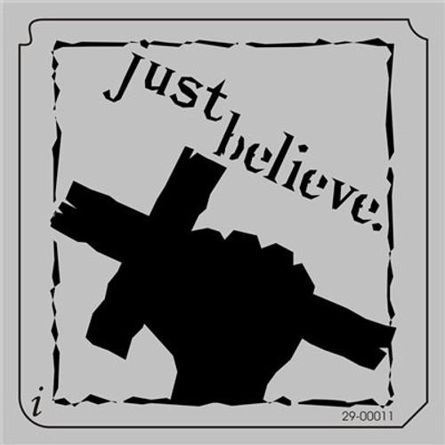 29-00011 Just Believe Cross