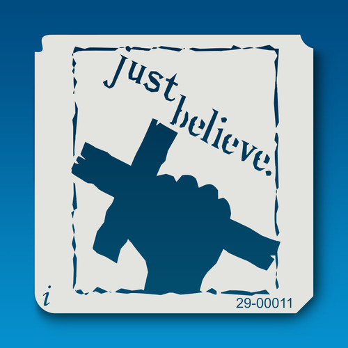 29-00011 Just Believe Cross