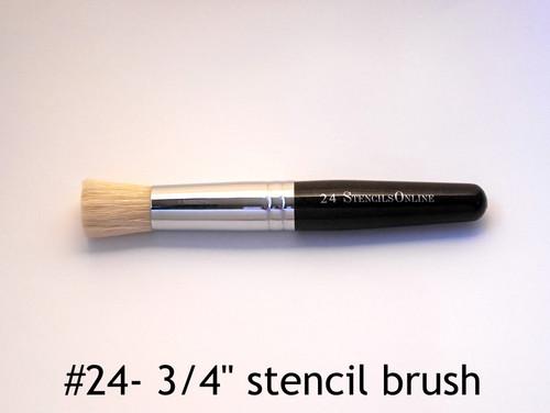 "#24 3/4"" - Stencil Brush"