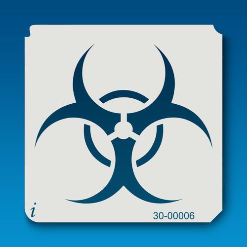 30-00006 Bio Hazard Stencil