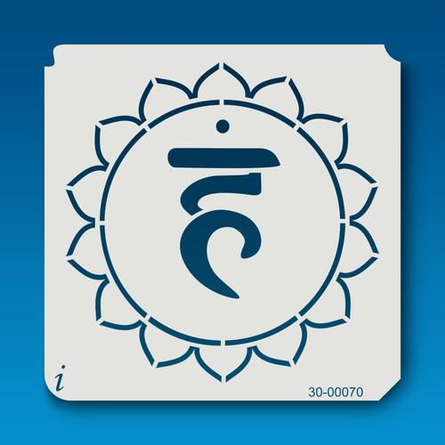 30-00070 Throat (Blue) Chakra