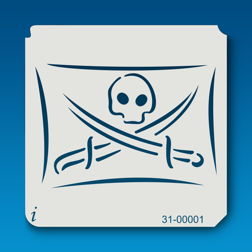 31-00001 Skull and Crossbones Flag