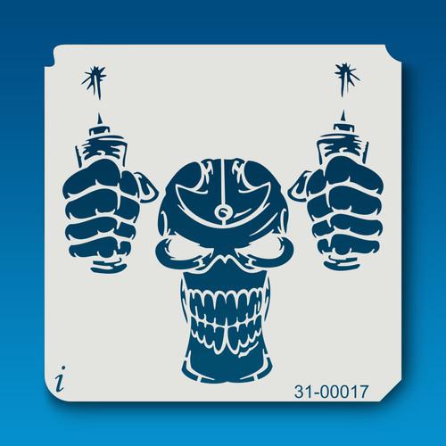31-00017 Dynamite Skull