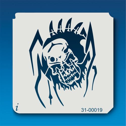 31-00019 Spider Skull