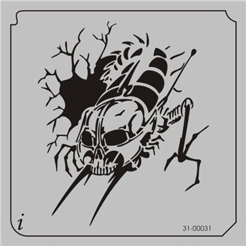 31-00031 Centipede Skull
