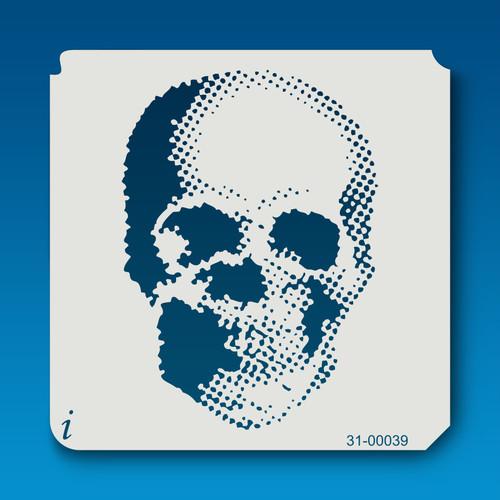 31-00039 Dot Skull