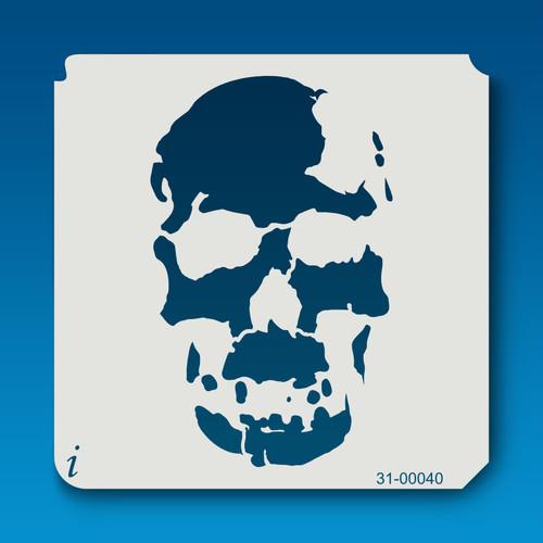 31-00040 Grunge Skull