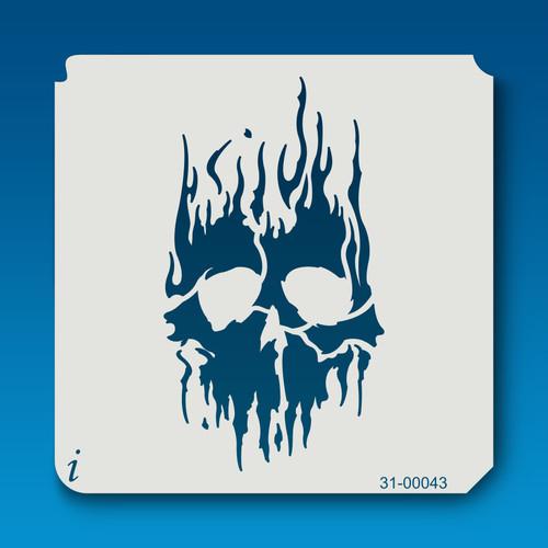 31-00043 Flame Skull