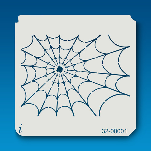 32-00001 Spider Web Paint Stencil