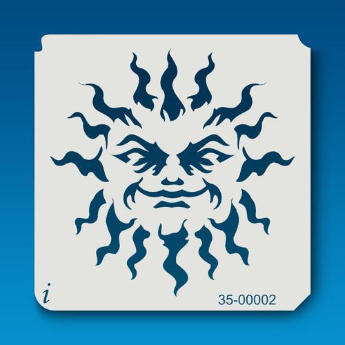 35-00002 Flaming Hot Sun