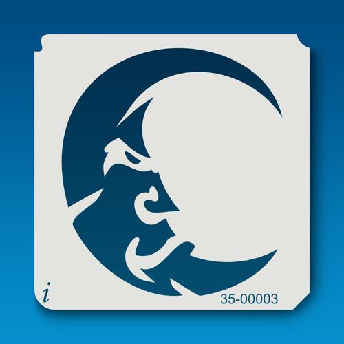 35-00003 Scowling Moon