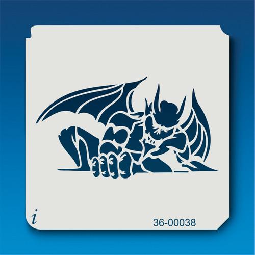 36-00038 Gargoyle stencil