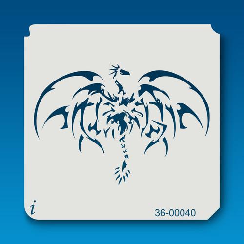 36-00040 dragon stencil
