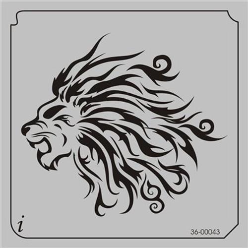 36-00043 Lion Mane Tribal