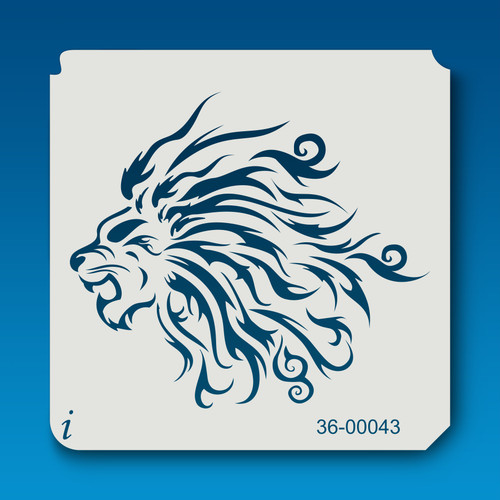 36-00043 Lion Mane Tribal