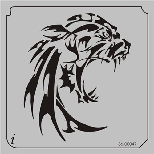 36-00047 Tribal Big Cat Roar