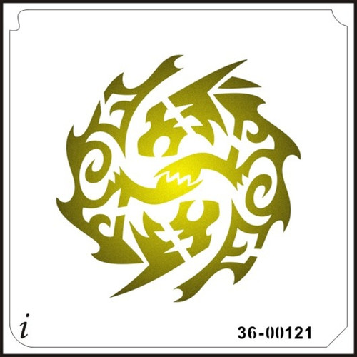 36-00121 Tribal Ying Yang