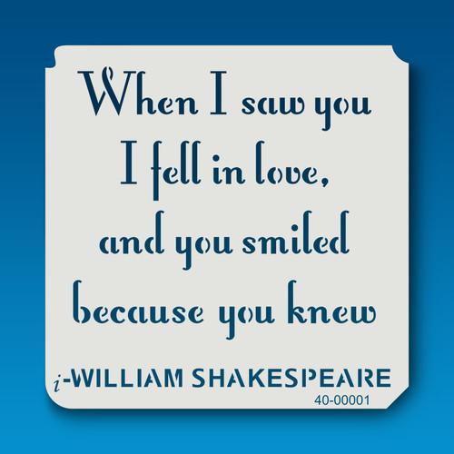 40-00001 Shakespeare