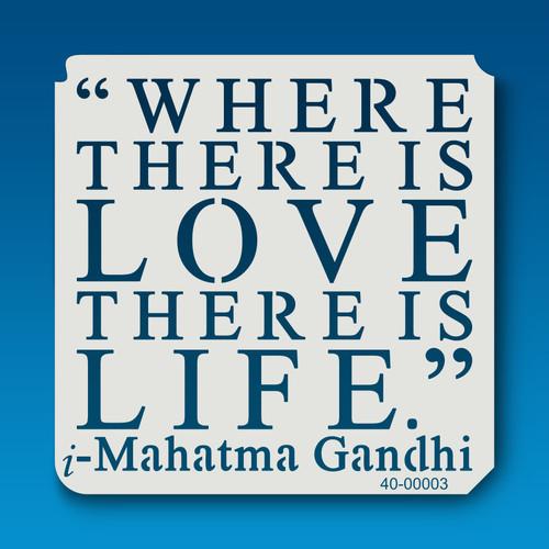40-00003 Mahatma Gandhi