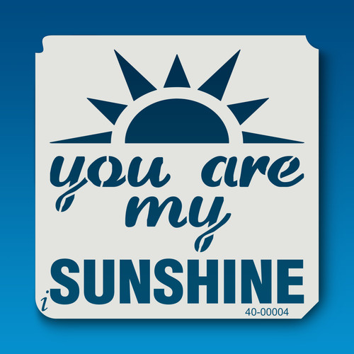 40-00004 You are My Sunshine