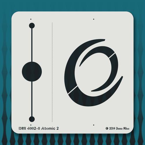4002 Atomic 2 stencil